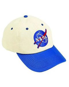 Blue and White NASA Vector Youth Cap