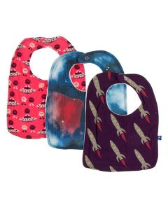 Red Rockets Bib Set of 3