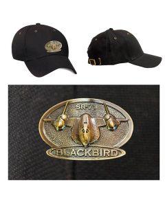 Lockheed SR-71 Blackbird Medallion Cap