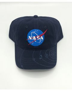 NASA Vector Logo Planets Youth Cap