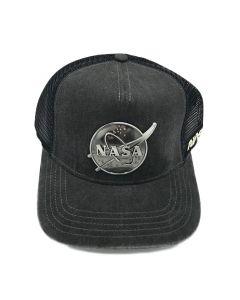 Metal NASA Vector Logo Cap