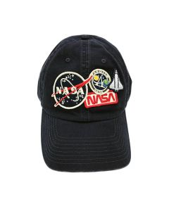 NASA Patches Navy Cap