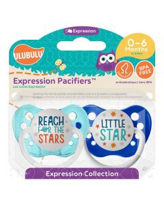 Reach For The Stars Pacifiers