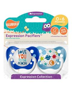 Love You ToThe Moon & Galaxy Pacifiers
