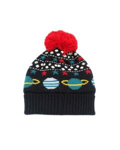 Space Children's Knitted Hat