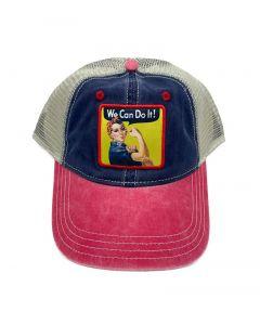 Rosie The Riveter Trucker Cap