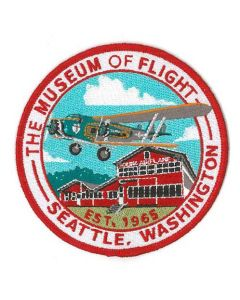 The Museum of Flight 80A Red Barn Patch