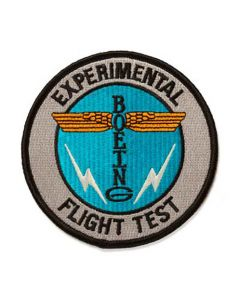 "Boeing Experimental Flight Test 4"" Patch"