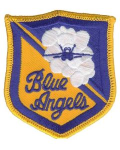 Blue Angels Small Crest Patch