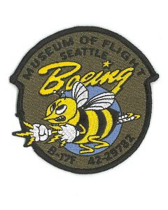 Boeing Bee B-17 Nose Art Patch