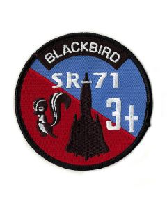 SR-71 Blackbird 3+ Skunkworks Patch