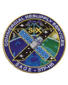 SpaceX 10 Commercial Resupply Services Patch