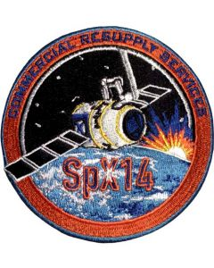 SpaceX 14 Commercial Resupply Services Patch