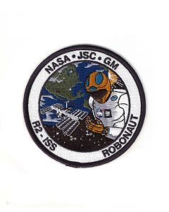 Robonaut 2 NASA Patch