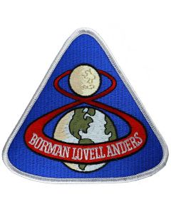 "Apollo 8  4"" Patch"