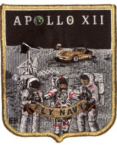Apollo 12 Mission Commemorative Spirit Patch