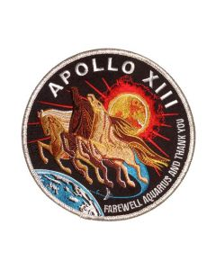 Apollo 13 Mission  Commemorative Spirit Patch