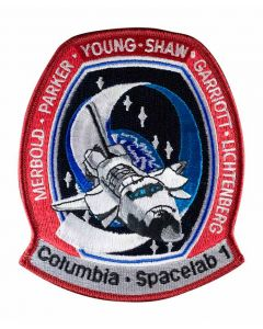 STS-9 Spacelab 1 Patch