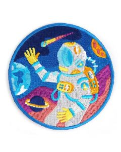 Outer Space Astronaut Patch