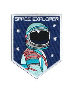 Space Explorer Astronaut Patch