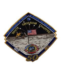 Apollo 1 Mission 50th Anniversary Patch