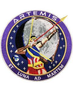 """Artemis Commemorative 5"""" Patch"""
