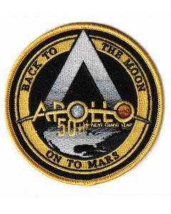Apollo 50 Back To The Moon On To Mars Patch