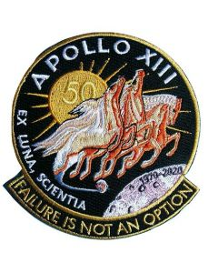 Apollo 13 Mission 50th Anniversary Patch