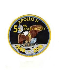 "6"" Large 50th Anniversary Apollo 11 Patch"