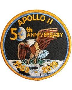 50th Anniversary Apollo 11 Mission Patch