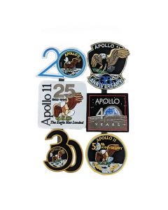Apollo 11 Mission Anniversary Patch Set