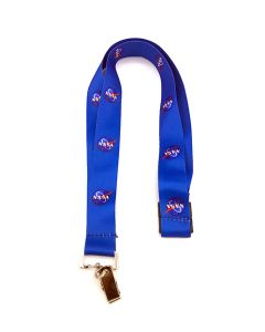 Blue NASA Vector Lanyard
