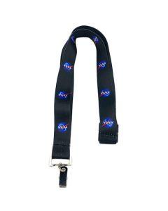 Black NASA Vector Lanyard