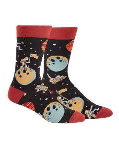 A Sock Odyssey Men's Crew Socks