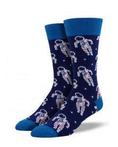 Space Astronaut Socks Navy