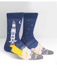 Saturn V Rocket Crew Socks