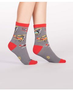 Kids Biplane Co Pilot Socks