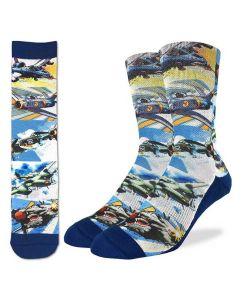 Fighter Jets Socks