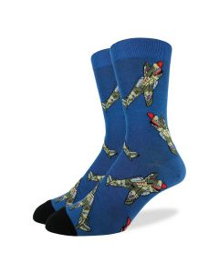 War Plane P-40 Socks