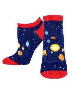 Women's Solar System Short Sock