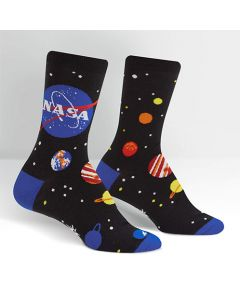 Women's NASA Solar System Crew Socks