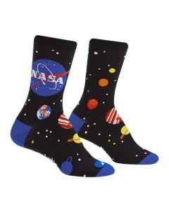 Women's NASA Solar System Crew Socks