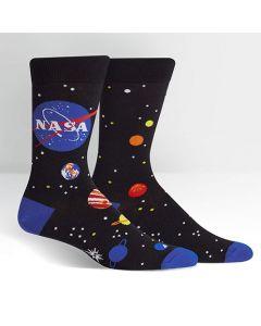 Men's NASA Solar System Socks