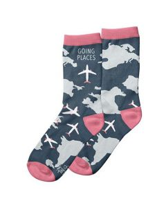 Going Places Travel Socks