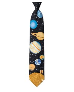 Solar System with Sun Tie