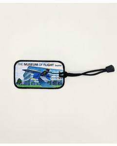 Blue Angel Gate Guard Luggage Tag