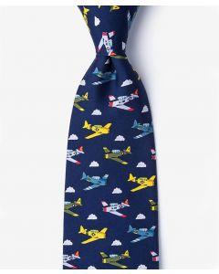 Blue Warbirds Tie