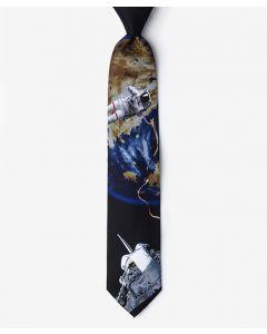 Astronaut Space Walk Black Tie
