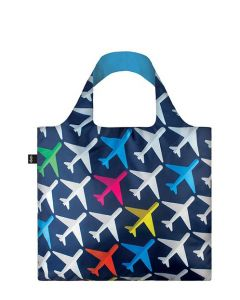 Airport Airplane Reusable Tote Bag