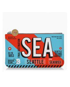 Small Stripe SEA Ticket Pouch